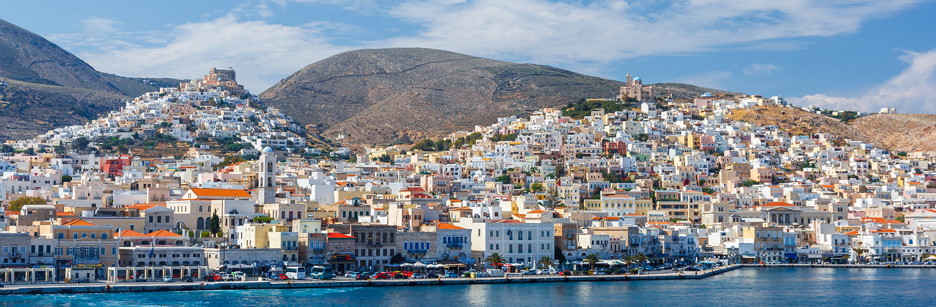 photo of Syros port